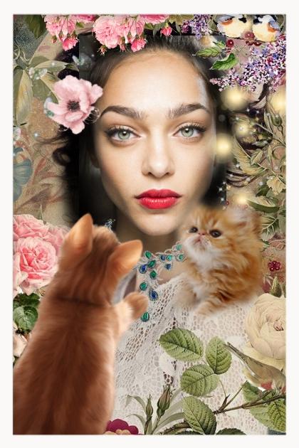 Pretty kitties- Fashion set