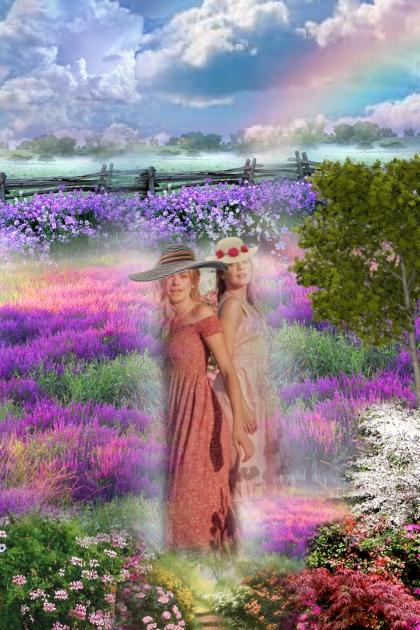 Flowering fields
