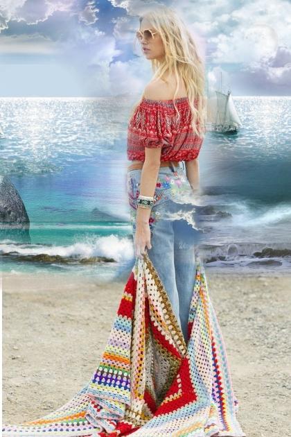 On the seashore