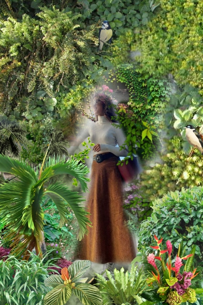 Botanical Garden- Fashion set