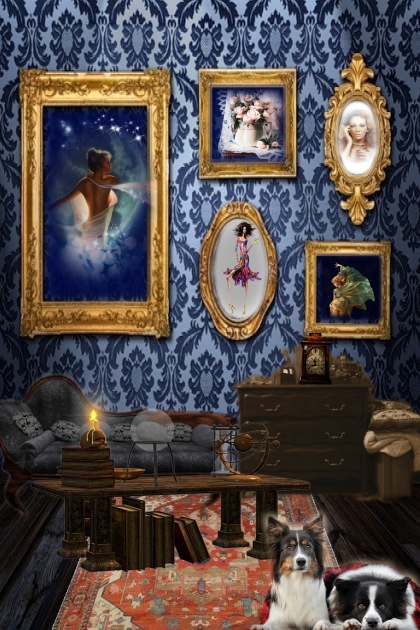 A sitting room- Fashion set