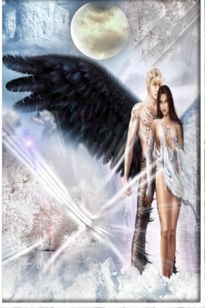 Dark angels in the ice- Fashion set