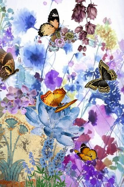 Charming butterflies