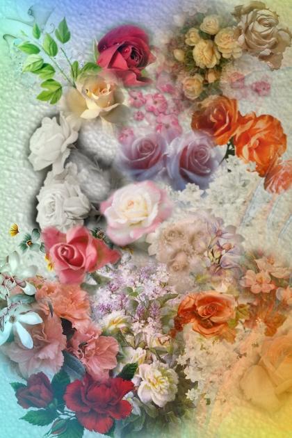 Bright flower mix