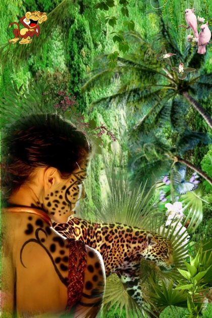 Leopardesses