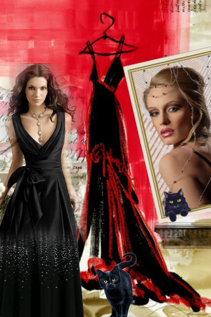 Little black dress - the icon of style
