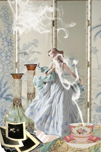 A porcelain girl