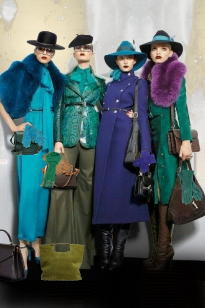 Hats, gloves and bags