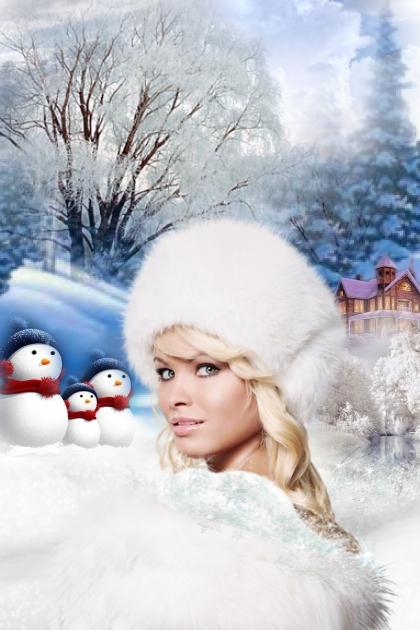 As white as snow- Fashion set