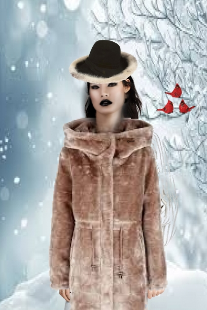 A coat for white winter