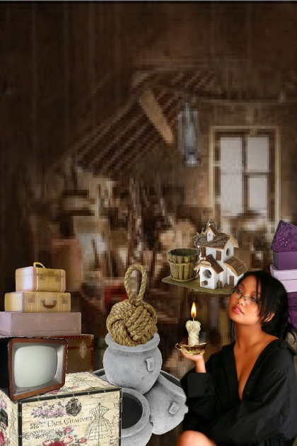Old attic- Fashion set