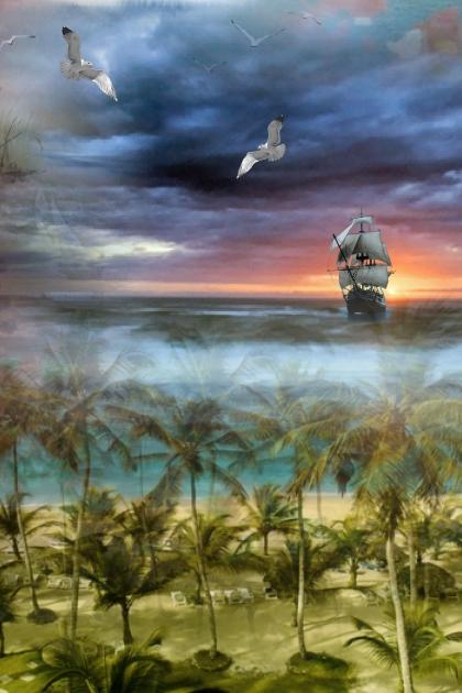 Sunset sailing- Combinaciónde moda