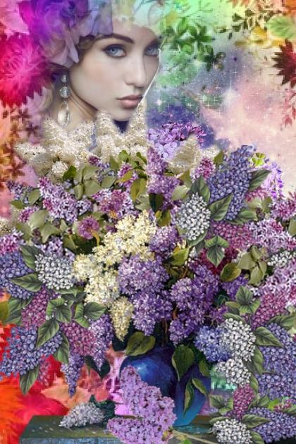 Fond of lilacs- Fashion set