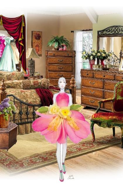 A flower-dress