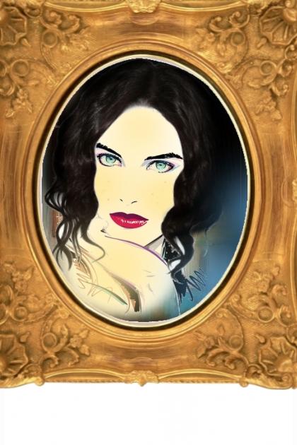 A blue-eyed woman