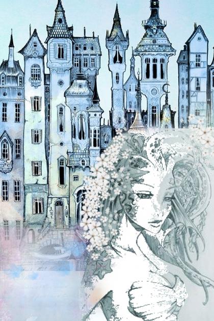 Lady in blues