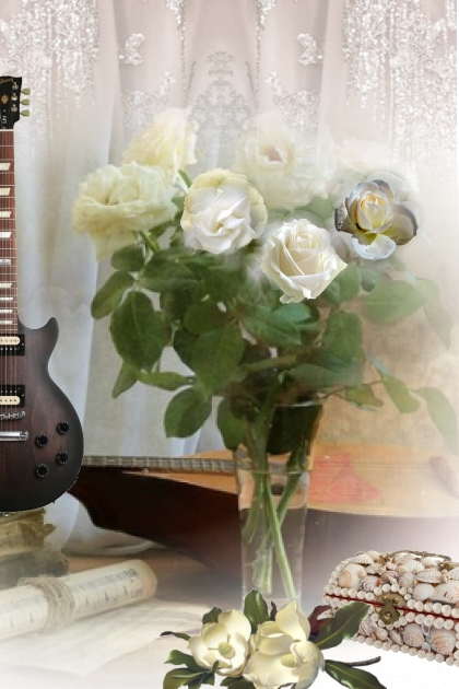 A song to white roses