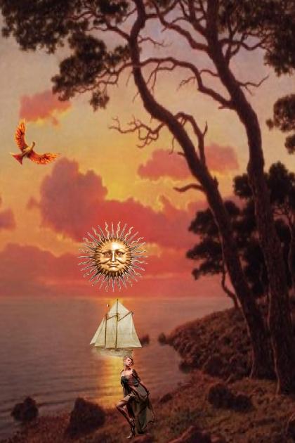 The Sun bird