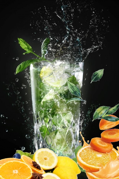 Orange and lemon juice