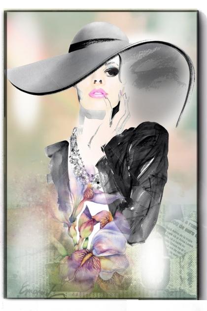 A lady in grey 2