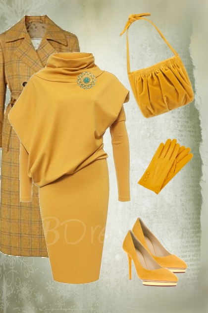 Sunny yellow outfit