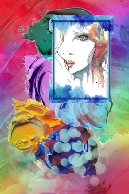 A palette