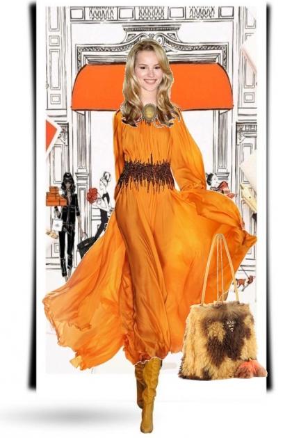 Amber colour