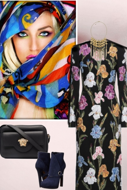 Multicolour outfit