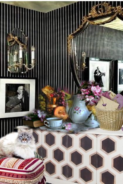 in a sitting room 2- Fashion set