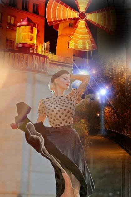 Moulin Rouge girl