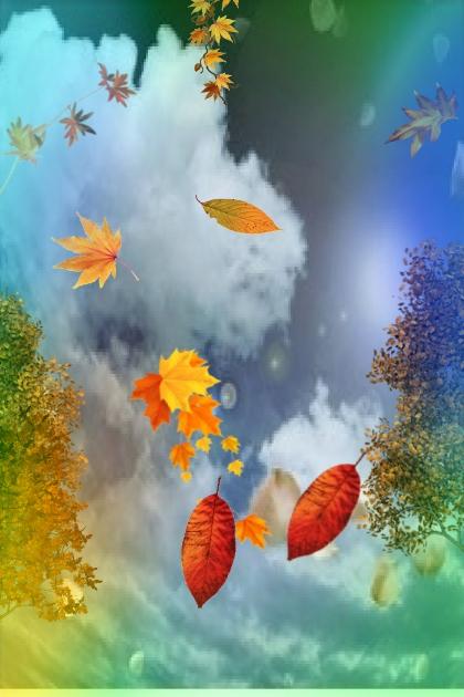 Golden leaves 2