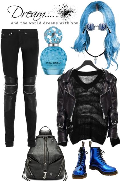 Joan Queens black&blue grunge dreams