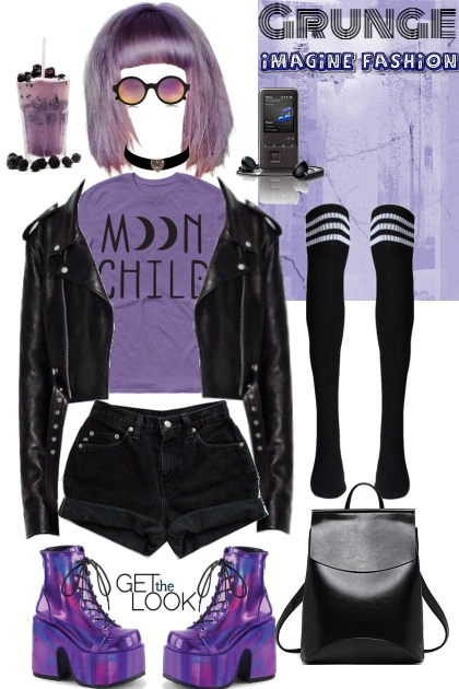 Joan Queens black&purple mood