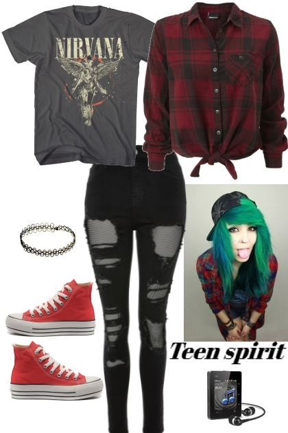 Joan Queens teen spirit grunge