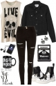 Joan Queens  rebel mood black&white