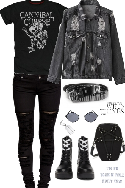 Metal grunge chic by JoanQueens