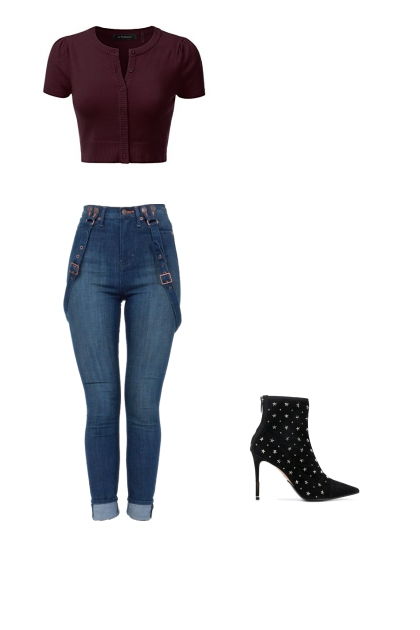 TRIANGLE BODY SHAPE OUTFIT