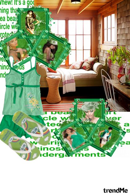 green piđžama party