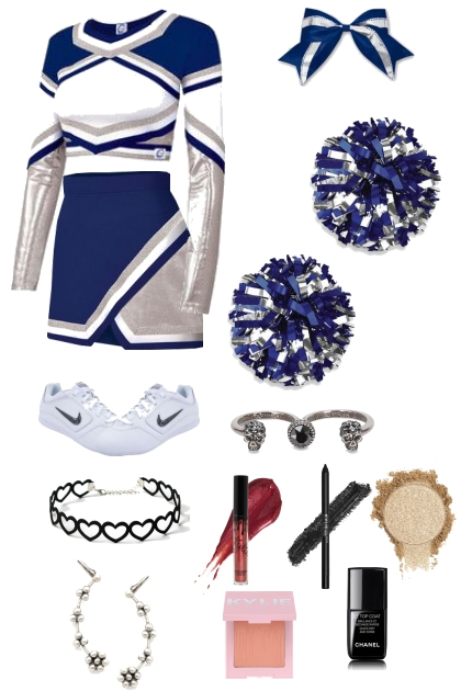 Lilith Porter, cheerleader uniform