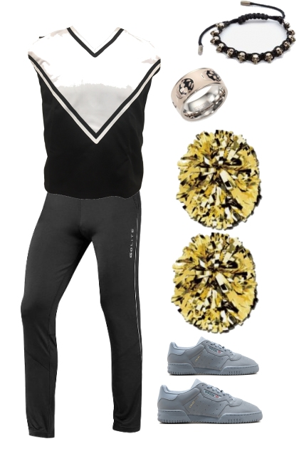 Jeremiah Howell Cheerleader Uniform