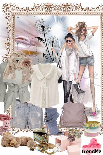 easy urban spring....- Fashion set