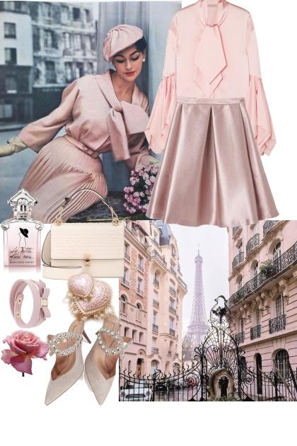 Retro pink style