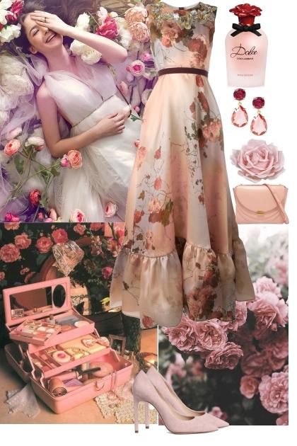 Floral look