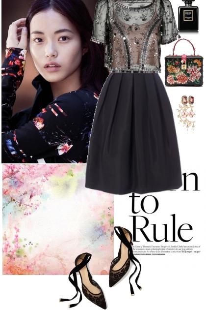Elegant&romantic style