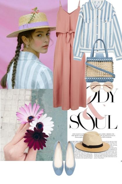Summer romantic look