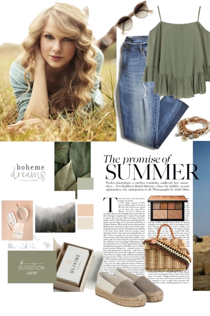 Summer casual style- Fashion set