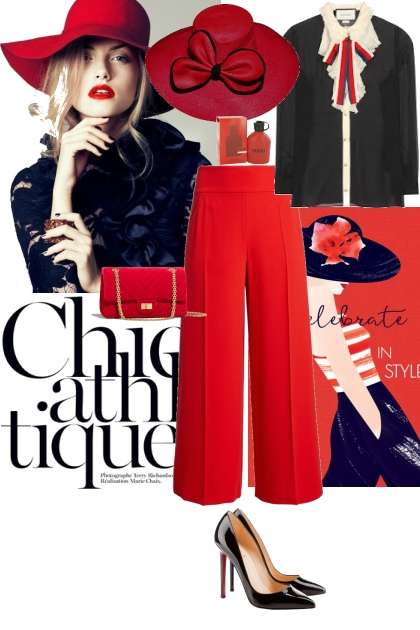 Elegant vintage look- Fashion set