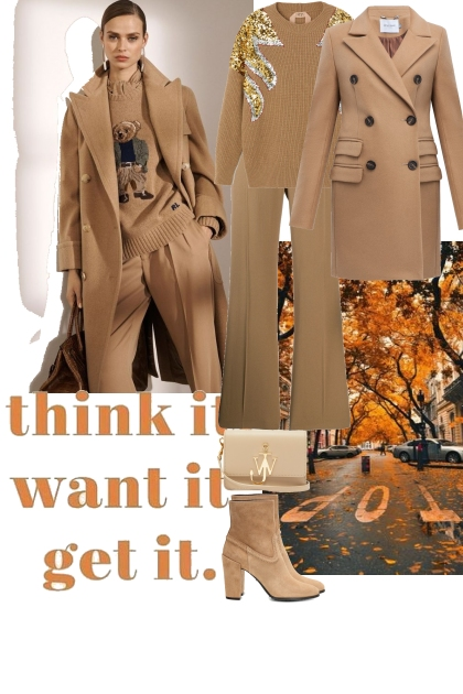 Autumn in the beige colours