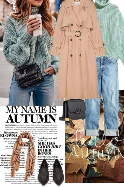 Autumn casual look- Fashion set