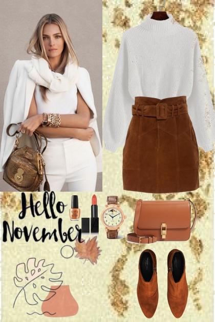 Autumn casual set- Fashion set